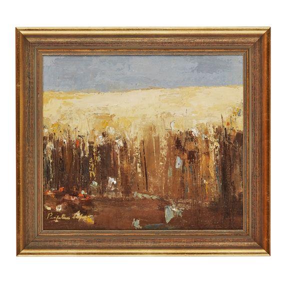 Perpetua Pope - CORN, oil on canvas