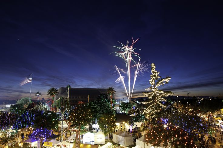 Glendale, Arizona | Every Friday and Saturday evening through December 20, downtown Glendale hosts fabulous holiday events to set the mood for the season. Read more at drivethenation.com