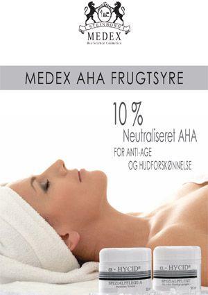 Medex :: 10% AHA Frugtsyre