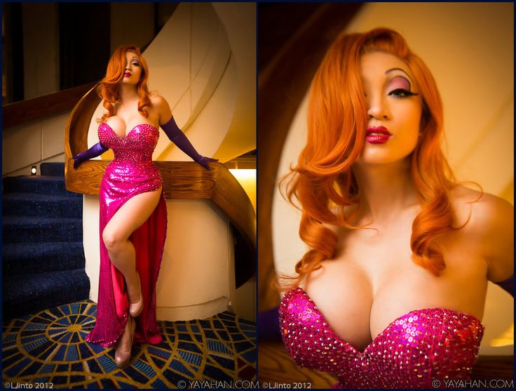 jessica rabbit cosplay by yaya han http www facebook com