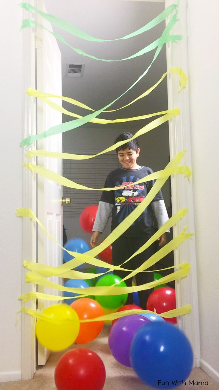 Are you looking for fun birthday morning suprise's? Make a kids birthday balloon avalanche where balloons fall from the ceiling or door.