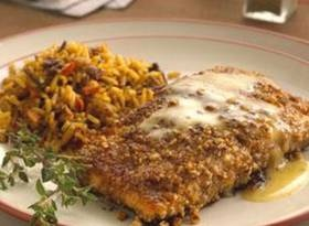 Pecan-crusted Salmon With Honey-mustard Glaze | food recipes ...