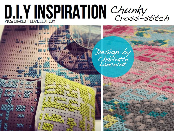 10 of the most amazing Cross Stitch DIY projects and tutorials