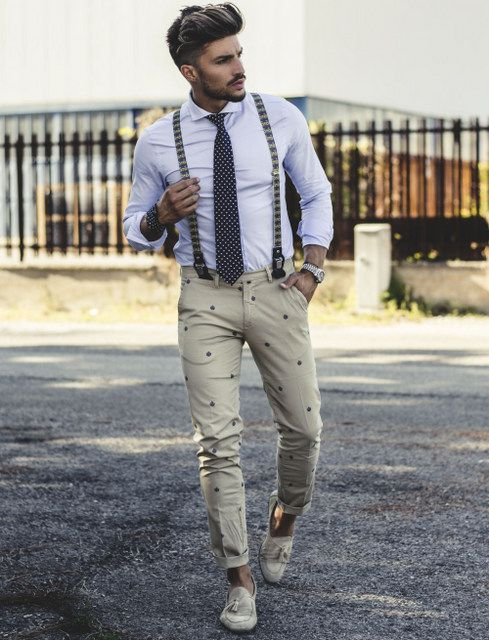 HOW TO WEAR SUSPENDERS STILISHLY #mdvstyle