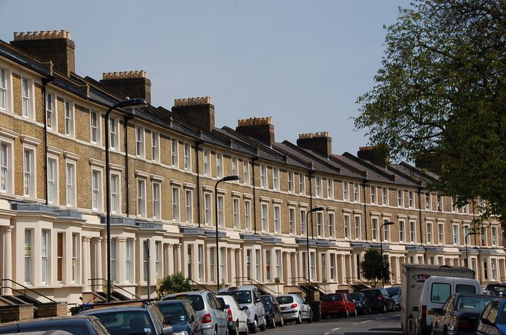 Hackney - 19th Century Houses By Victoria Park
