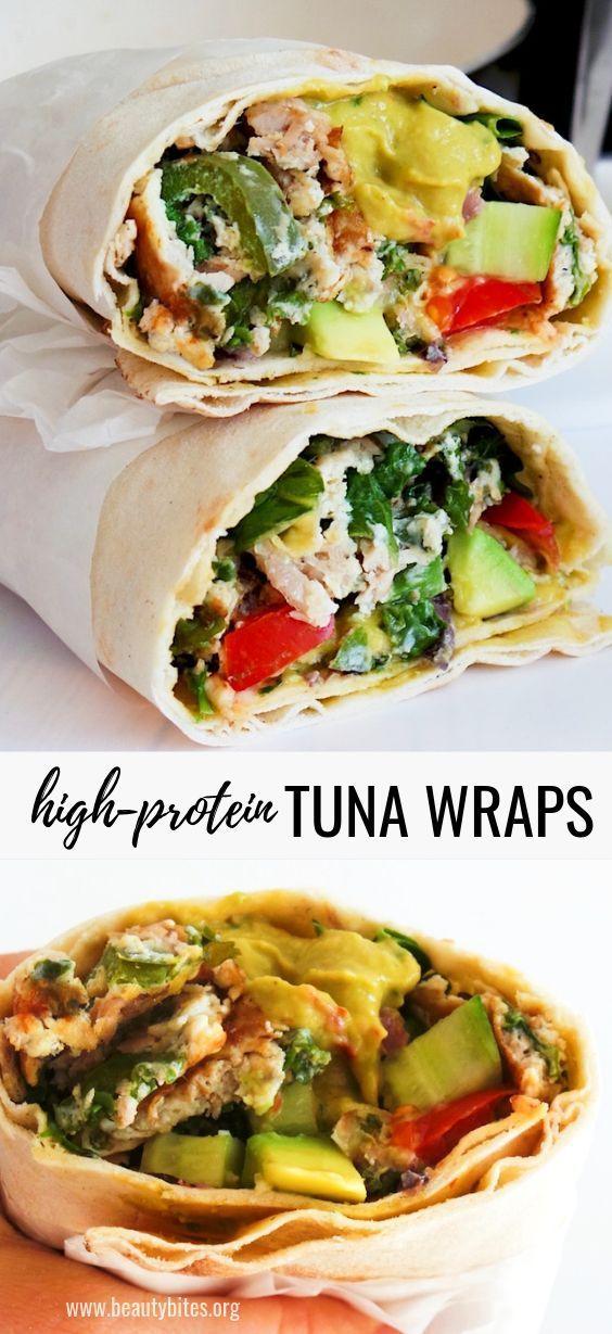 Tuna Wraps – High-Protein