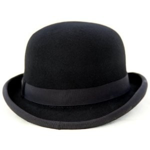 Bowler Hat - A symbol of the City since it's invention in London in 1849 but also preferred by Billy the Kid & Butch Cassidy to the traditional 'cowboy hat'.