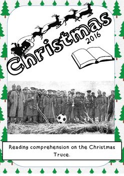 Make sure your children stay on top of their reading grades whilst taking part in this engaging Christmas task. This guided reading activity, aimed at 9, 10 and 11 year olds, tests childrens comprehension, retrieval, inference and deduction skills. It will also promote engaging classroom discussion as children focus on the horror and humanity of Christmas in the trenches during World War One.The activity has questions and answers, with an indication of how many marks are on offer at the end…