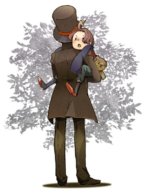 Fantastic Layton Brothers: Mystery Room fanart by 通販とアンソロ(共闘)