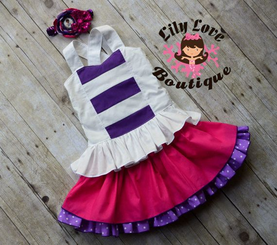 Hey, I found this really awesome Etsy listing at https://www.etsy.com/listing/503974781/doc-mcstuffins-birthday-outfit-doc