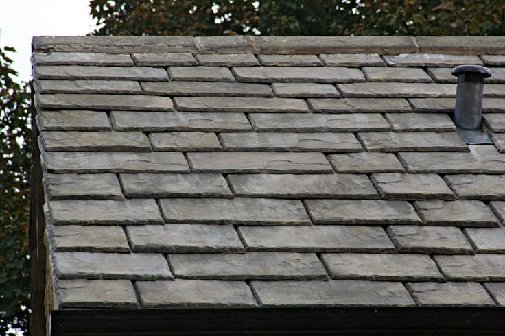 faux slate roofing material | Bellaforte Synthetic Slate Roof FIELD Tiles, SLATE GRAY (10).