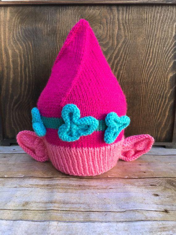 Trolls Knitting Or Crocheting Patterns : Poppy troll hat knitting pattern knit by