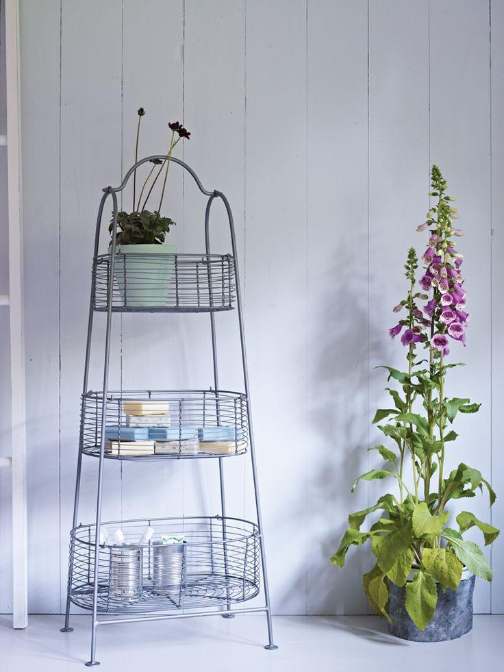 Wirework Tiered Storage Baskets
