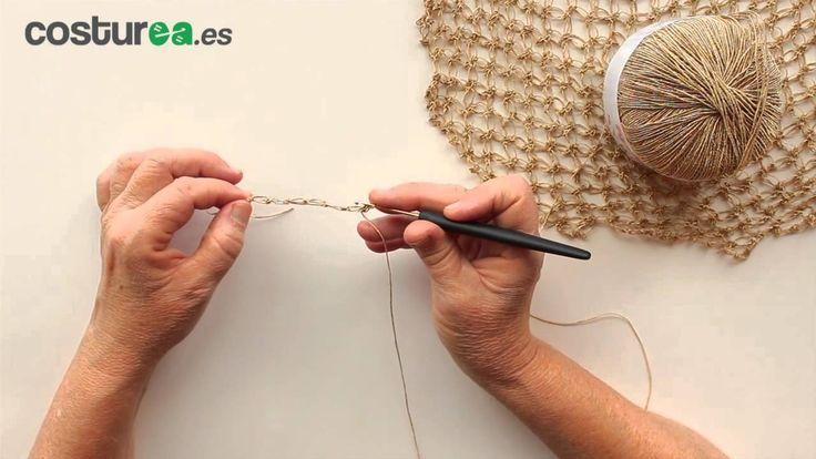 Aprende cómo hacer el punto salomón en ganchillo fácil paso a paso.