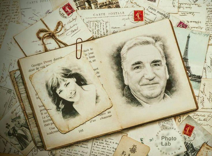 Phyllis Logan and Jim Carter *sigh*