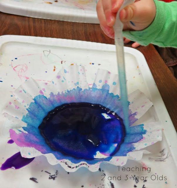 preschool winter art