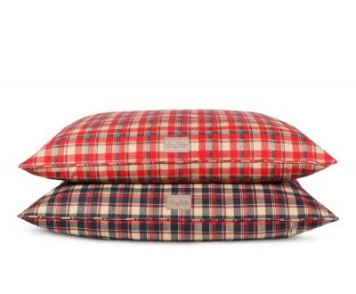 Plaid Dog Bed Cover
