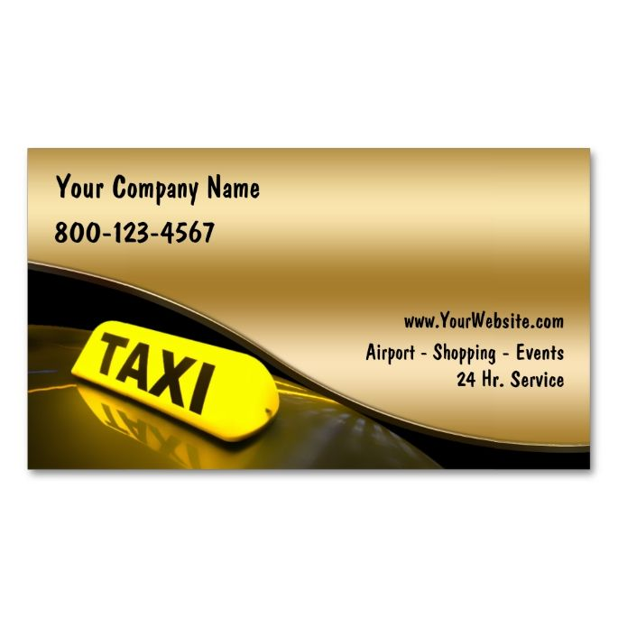 17 Best images about Limo Taxi Business Cards on Pinterest ...