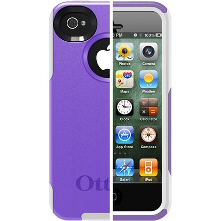 iPhone 4S Commuter Series Case // OtterBox.com/just got this case-love it-very sturdy and cute too