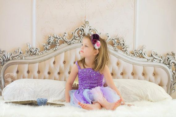 4ft x 3ft Vinyl Photography Backdrop / Tufted Bed by SwankyPrints, $27.99