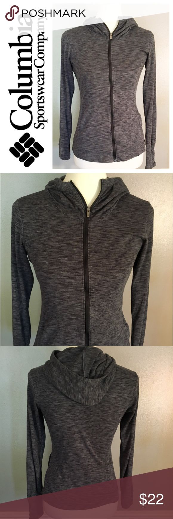 Columbia sportswear zip-up hoodie size XS Columbia sportswear gray zip-up hoodie. EUC without rips, stains, or holes. Size XS. Columbia Tops Sweatshirts & Hoodies
