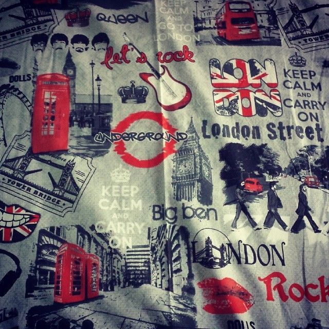 #copriletto #coperta #londra #bed #sleep #beatles #london #music #keep #calm…