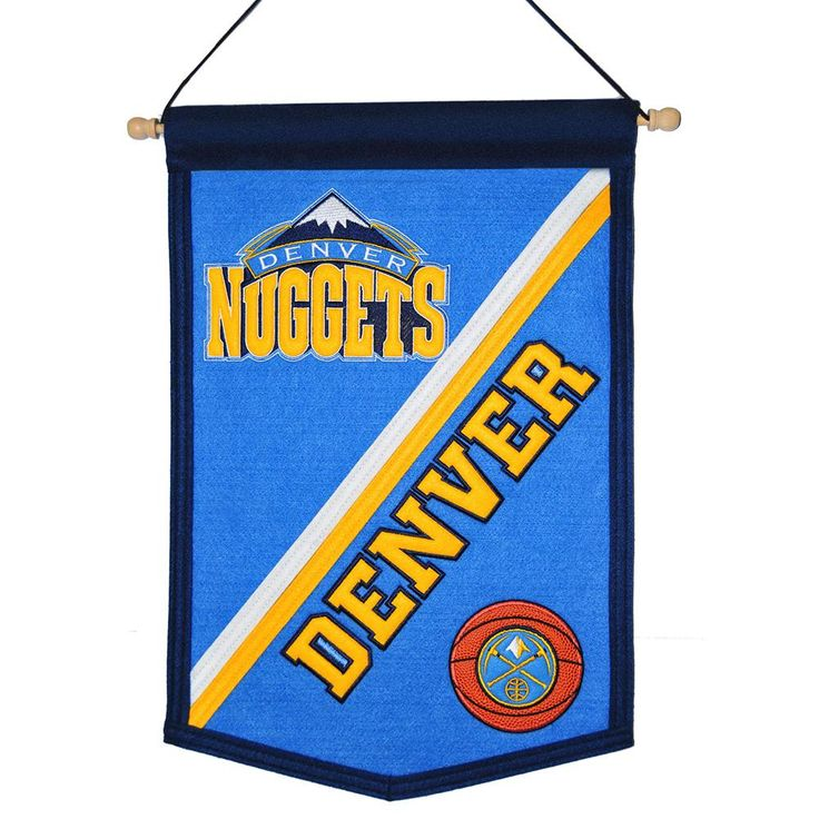 Denver Nuggets NBA Traditions Banner (12x18)