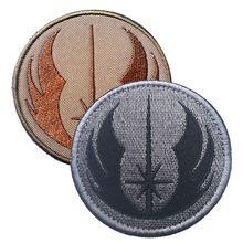 La nueva orden de STARWARS Star Wars Jedi bordado la táctica militar parches insignias para la ropa ropa GANCHO/LAZO 7.62 CM(China (Mainland))