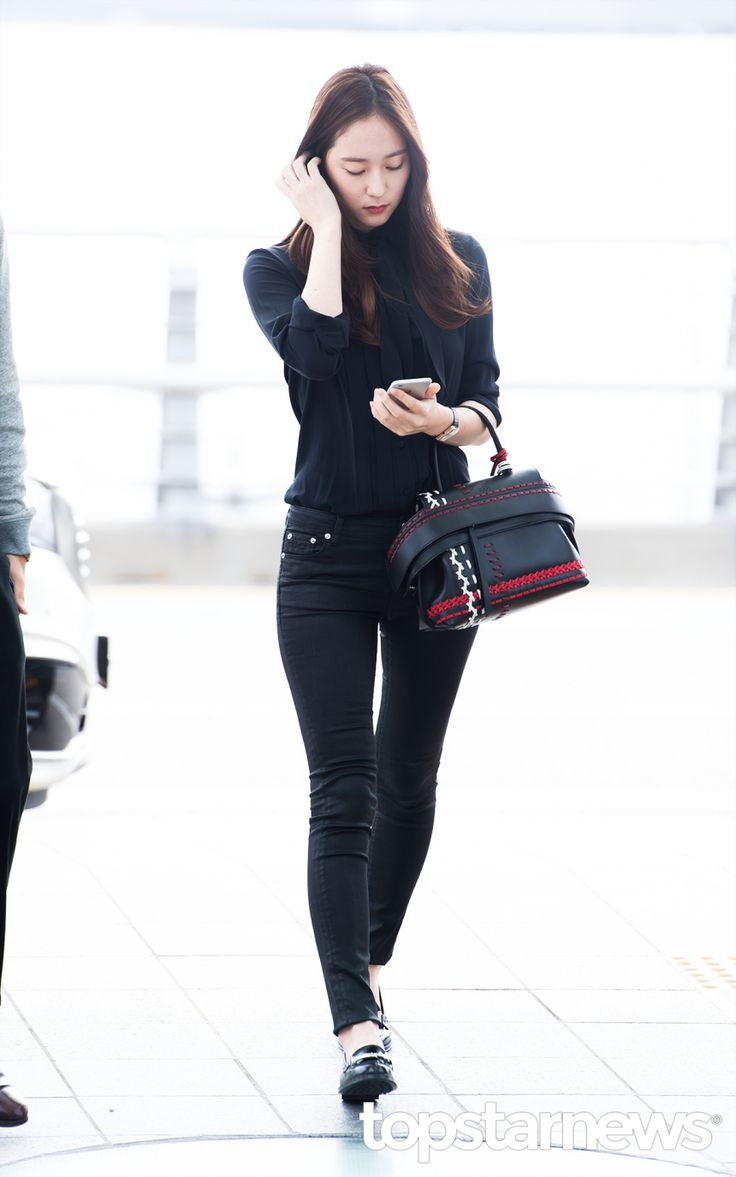 434 Best Images About Krystal F X Airport Fashion On Pinterest Incheon Hong Kong And Beijing