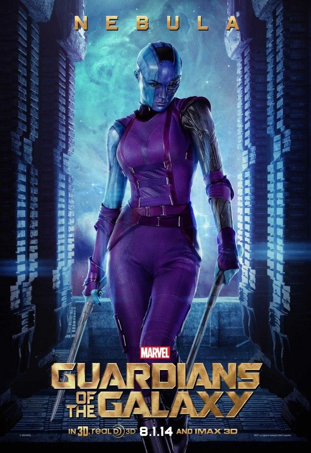 Les Gardiens de la Galaxie (2014) Nebula