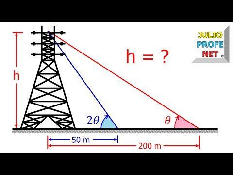 Problema 1 de Trigonometría en Triángulos Rectángulos - YouTube                                                                                                                                                                                 Más