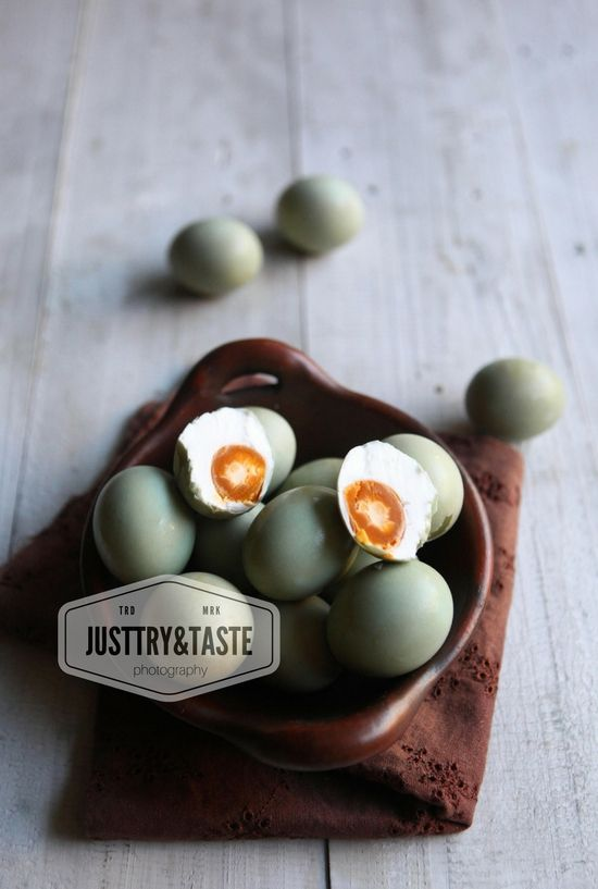 Homemade Telur Asin (Metode Rendam)