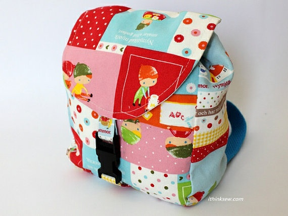 Baby Backpack PDF Pattern