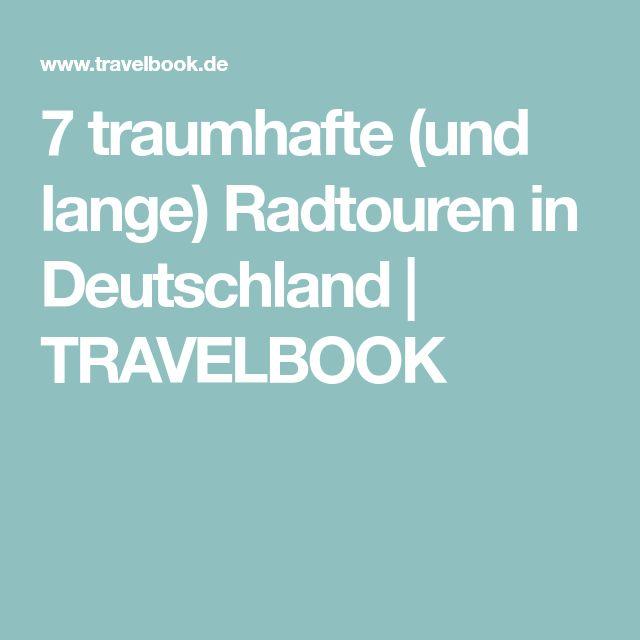 7 traumhafte (und lange) Radtouren in Deutschland | TRAVELBOOK