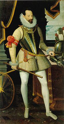 Alessandro Farnese, Duke of Parma.  Best general in the Spanish Army of Flanders.  Opponent of Maurice of Nassau