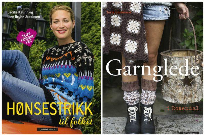 Flere norske strikkebøker selges til utlandet