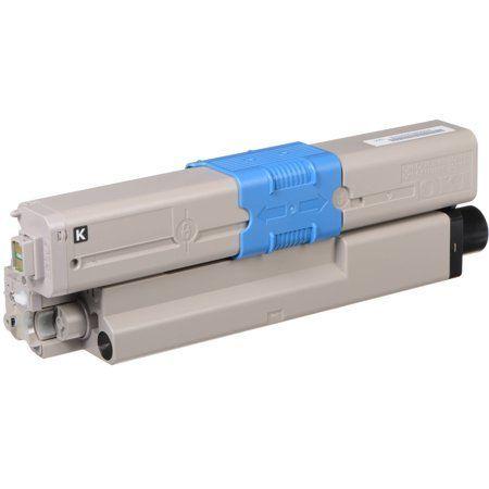 OKI Black Toner Cartridge (3,500 Yield) 46508704 -…