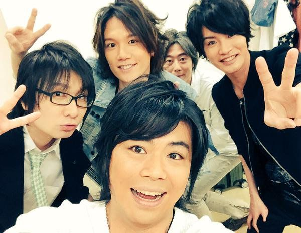 . BROTHERS CONFLICT FES Juotoko finished the part of the day and night: Namikawa Daisuke, seven man: Tomoaki Maeno ten second son: KENN-san, Hachiotoko: Ken Takeuchi, eleven man: Yoshimasa Hosoya. from DREAMWEAVERtwitter
