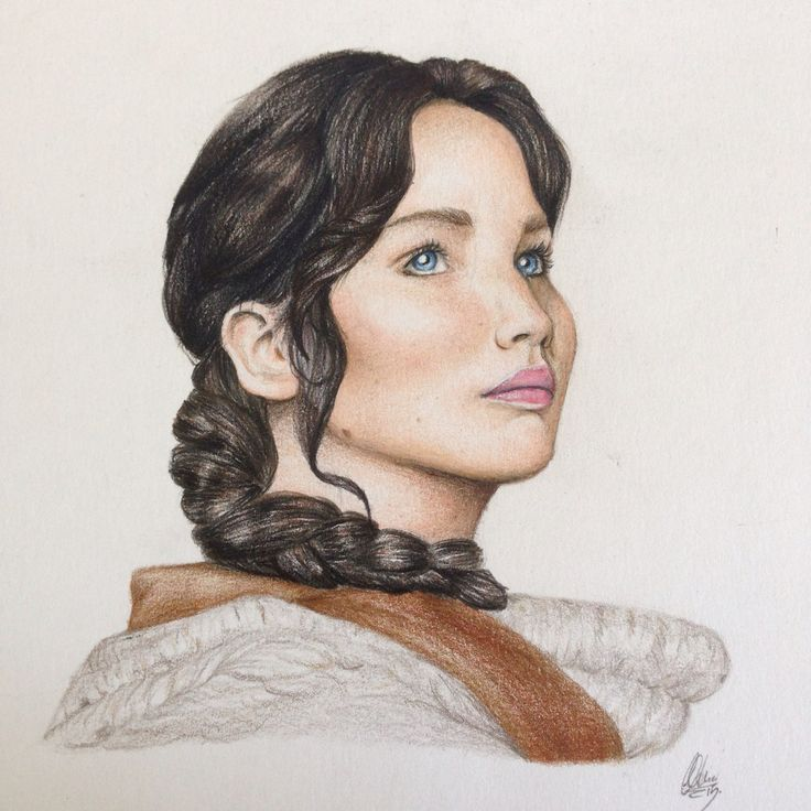 ~Katniss Everdeen~ I just love The Hunger Games and I'm so happy about this drawing  one of my bests so far.