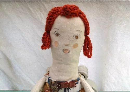 muñeca de trapo vintage