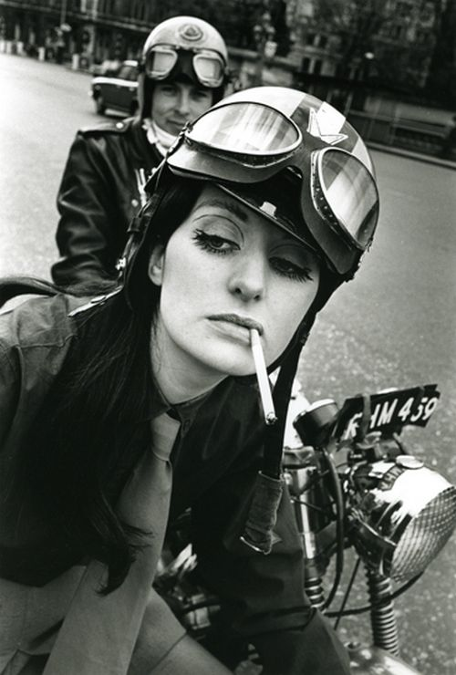 photo by frank habicht, 1960s i don't know who this woman is, but i love her style and attitude :)