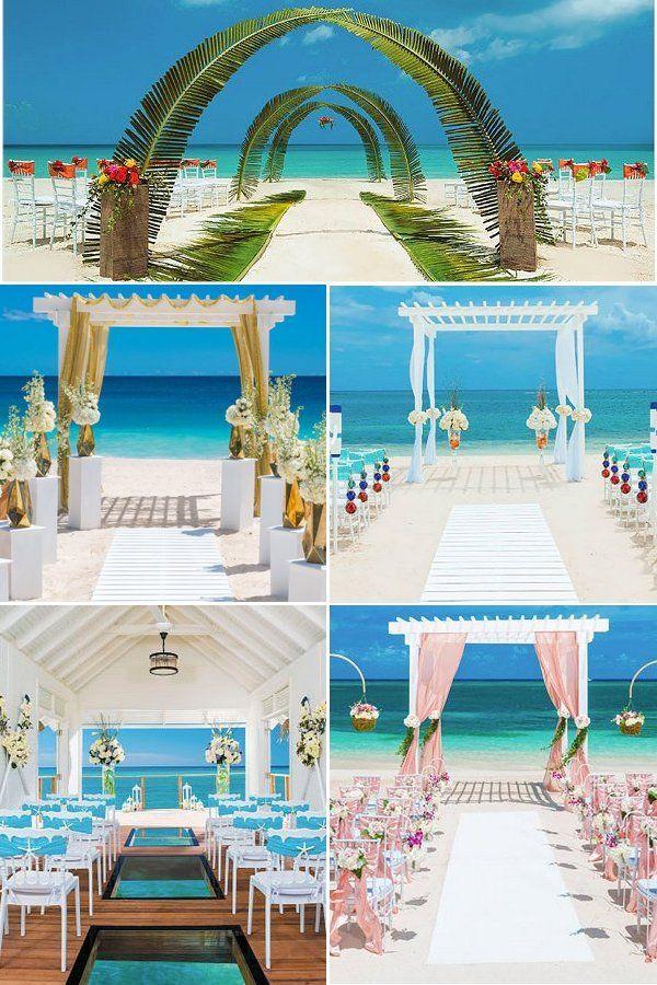Tropical Destination Wedding Venues Elegant Wedding Ideas Beachfront Weddings Destination Wedding Venues Tropical Destinations