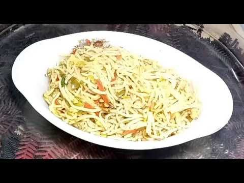 Chicken and vegetable chowmien by recipes junction in Urdu/hindi