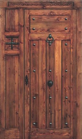 treating a cabinet door like this