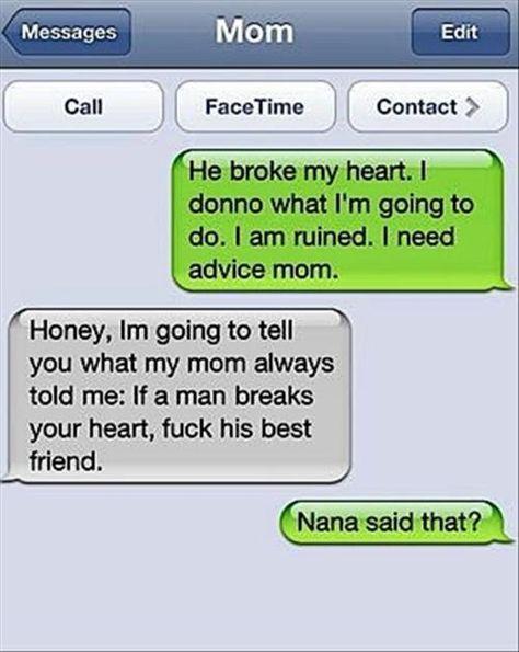 Funny Break Up Texts | damn you autocorrect | Tumblr