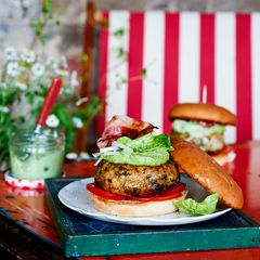 Tom Kerridge's fish burgers with herb mayonnaise http://www.sainsburysmagazine.co.uk/recipes/mains/fish-and-seafood-2/item/fish-burgers-with-herb-mayonnaise-4