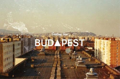 Greetings from Budapest!