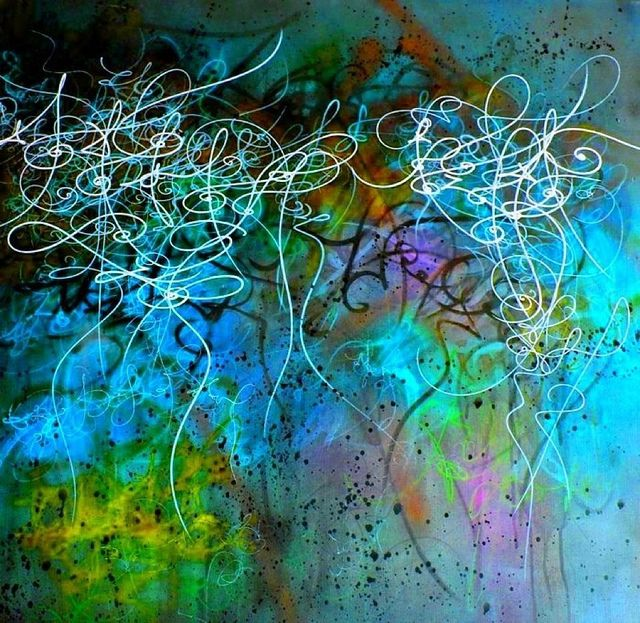 Synesthesic art abstract, via Flickr.