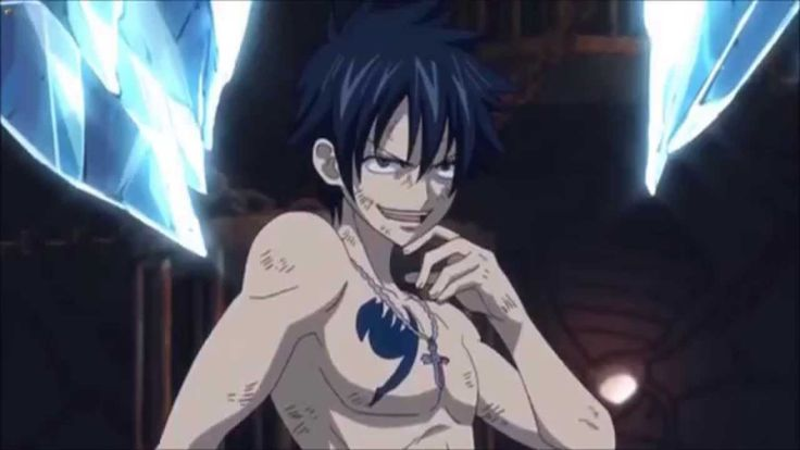 Gray, what's with your face? Juvia run!!!