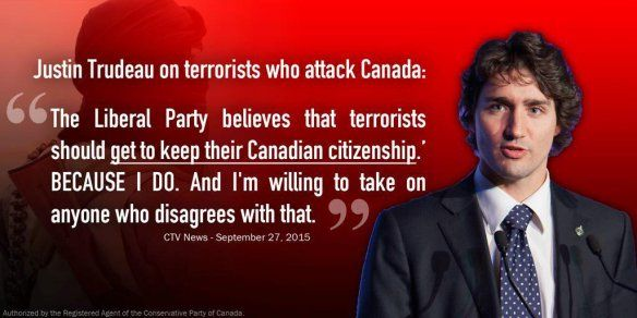 CANADIAN PM Justin Trudeau doesn't think ISIS supporters and terrorist sympathizers should necessarily be prevented from working at strategic locations in airports | BARE NAKED ISLAM